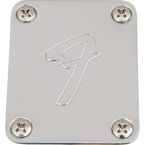Fender '70s 'F' Style Neck Plate Chrome