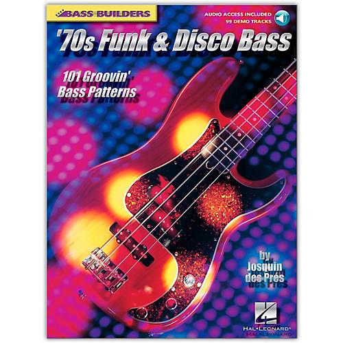 Hal Leonard '70s Funk and Disco Bass (Book/CD)