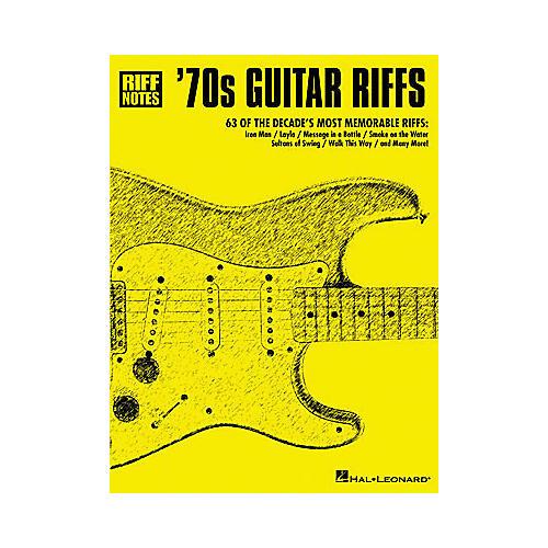 Hal Leonard '70s Guitar Riffs Book-thumbnail