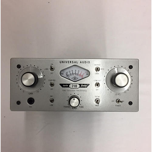 Universal Audio 710 Twin Finity Microphone Preamp-thumbnail