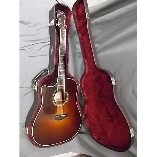 Taylor 710CE Left Handed Acoustic Electric Guitar