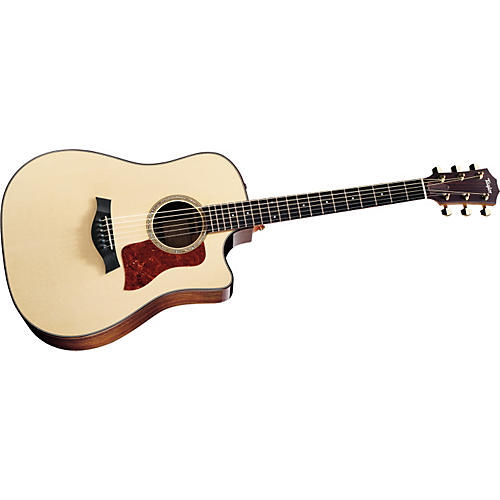 Taylor 710ce Dreadnought Cutaway Acoustic Electric Guitar (2011 Model) Natural