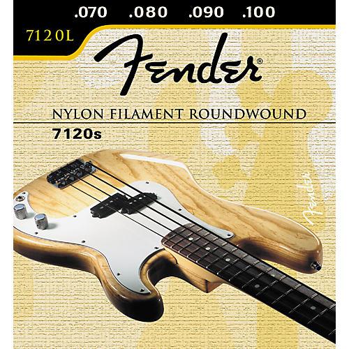 Fender 7120 Nylon Filament Wound Bass Strings-thumbnail