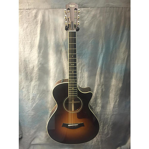 Taylor 712CE 12 Fret Acoustic Electric Guitar-thumbnail
