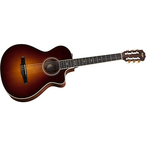 Taylor 712ce-L Rosewood/Spruce Grand Concert Left-Handed Acoustic-Electric Guitar