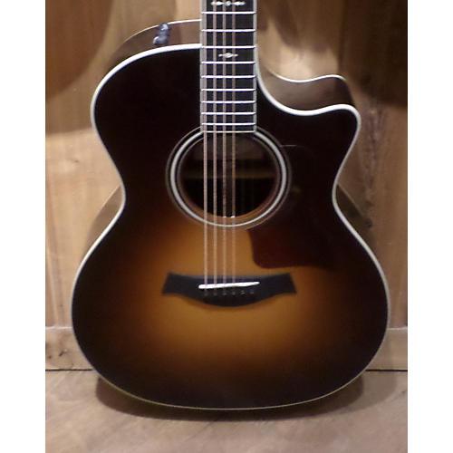 Taylor 714CE Sunburst Acoustic Electric Guitar-thumbnail