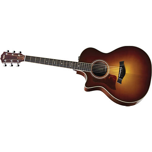 Taylor 714ce-L Rosewood/Spruce Grand Auditorium Left-Handed Acoustic-Electric Guitar-thumbnail
