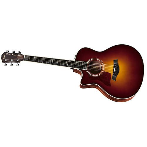 Taylor 716ce-L Rosewood/Spruce Grand Symphony Left-Handed Acoustic-Electric Guitar Vintage Sunburst