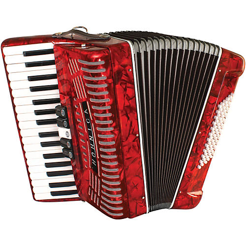 Hohner 72 Bass Entry Level Piano Accordion-thumbnail