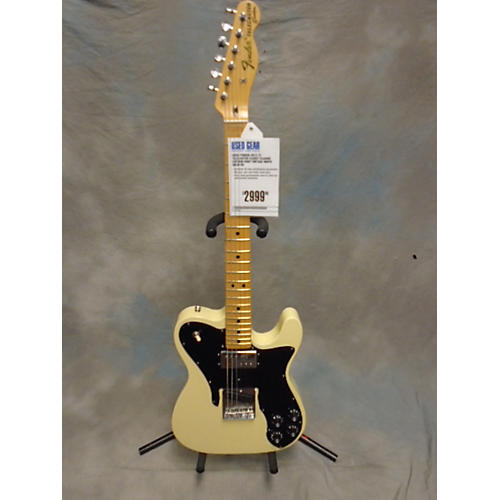 Fender 72 Telecaster Closet Classic Custom Shop Solid Body Electric Guitar Vintage White