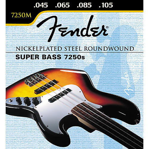 Fender 7250M Super Bass Medium Strings-thumbnail