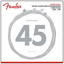 Fender 7250ML Super Bass Nickel-Plated Steel Long Scale Bass Strings - Medium Light