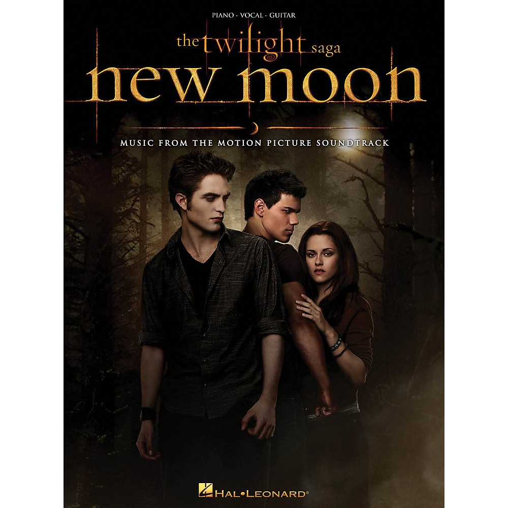 Twilight New Moon Music From The Motion Picture Soundtrack [Book] 1275425409776