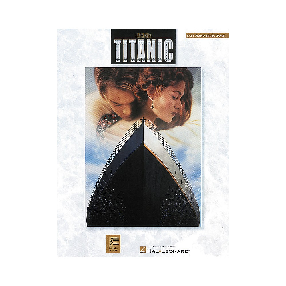 Hal Leonard Titanic Movie Selections For Easy Piano 1275425409710