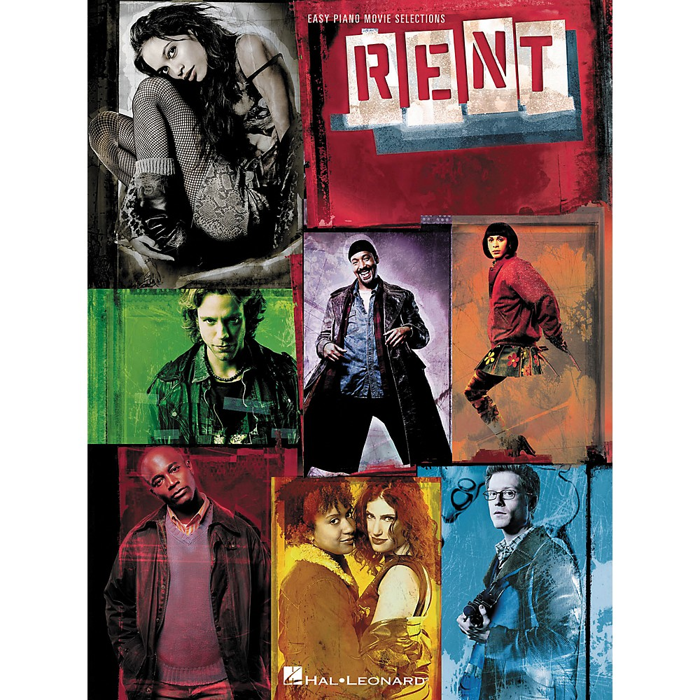 Hal Leonard Rent - Movie Selections For Easy Piano 1275425409756