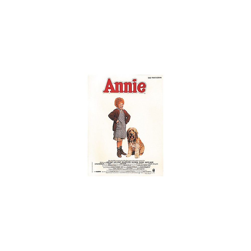 Hal Leonard Annie Movie Selections for Easy Piano 1275425409953