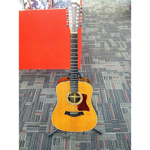 Taylor 750 12 String Acoustic Electric Guitar-thumbnail