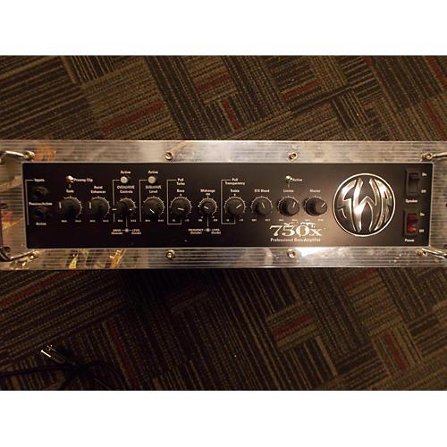 SWR 750X Bass Amp Head-thumbnail