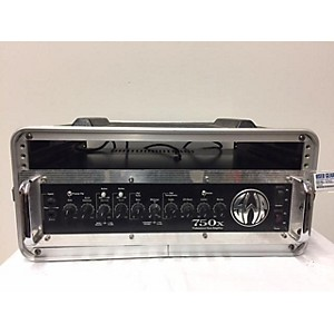 Pre-owned SWR 750X Bass Amp Head by SWR