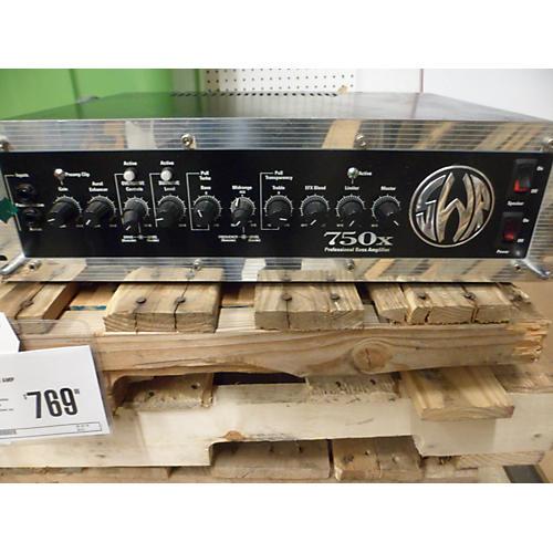 SWR 750X USA Bass Amp Head-thumbnail