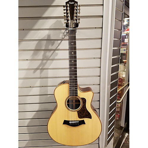 Taylor 756ce 12 String Acoustic Electric Guitar-thumbnail