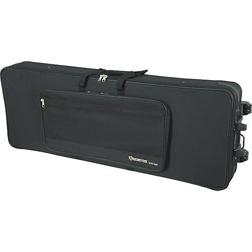 Musician's Friend 76-Key Oversize Keyboard Wheeled Soft Case 50