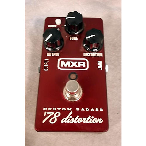 MXR '78 DISTORTIOIN Candy Apple Red Effect Pedal-thumbnail