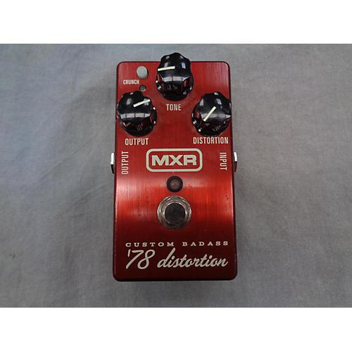 MXR 78 DISTORTION Effect Pedal