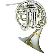 Hans Hoyer 7801 Nickel Double French Horn