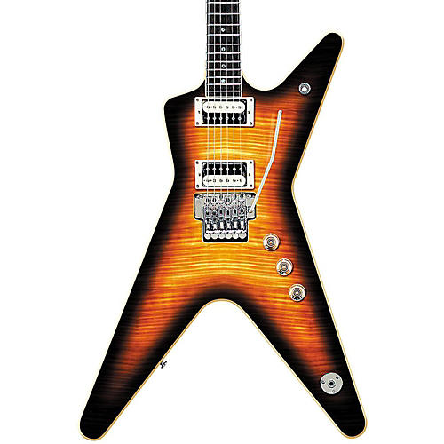 Dean '79 Series ML with Floyd Transparent Brazilia Burst-thumbnail