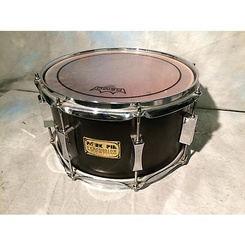 Pork Pie USA 7X12 7 X 12 Black Satin Drum