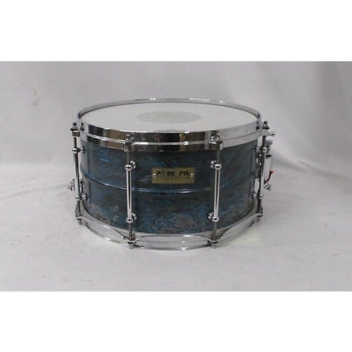 Pork Pie USA 7X13 BRASS PATINA Drum