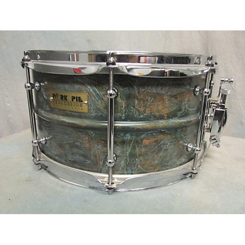 Pork Pie 7X13 BRASS PATINA SNARE Drum