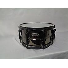 Orange County Drum & Percussion 7X13 Black On Brass Drum
