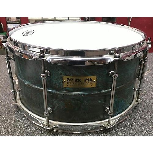 Pork Pie 7X13 Brass Patina Drum-thumbnail