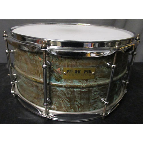 Pork Pie 7X13 Brass Patina Drum