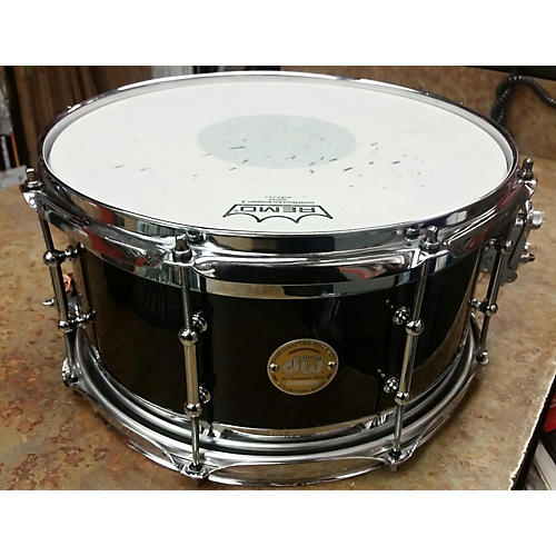 DW 7X13 Collectors Series Edge Brass\maple Snare Drum Drum