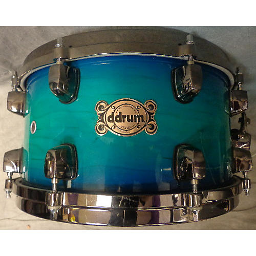 Ddrum 7X13 Dominion Maple Snare Blue Sunburst Drum-thumbnail