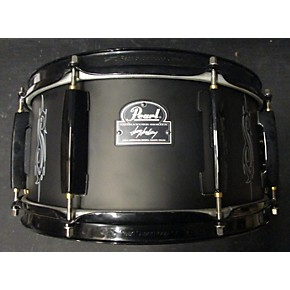 used pearl 7x13 joey jordison signature snare drum guitar center. Black Bedroom Furniture Sets. Home Design Ideas