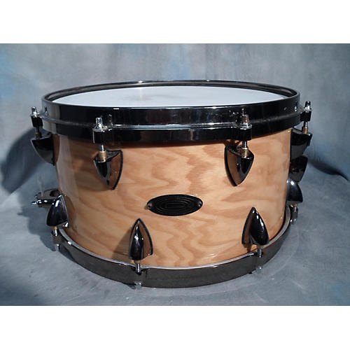 Orange County Drum & Percussion 7X13 Maple Snare With Ash Finish Natural Ash Drum