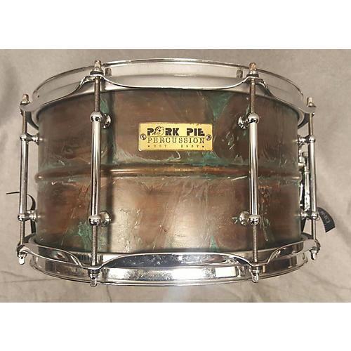 Pork Pie 7X13 Patina Drum