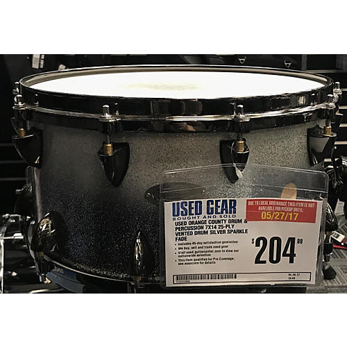 Orange County Drum & Percussion 7X14 25-Ply Vented Drum