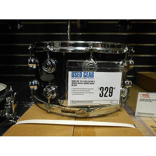 DW 7X14 Collector's Series Maple Snare Drum-thumbnail