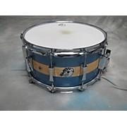 Pork Pie 7X14 D'Lux Maple/Brass Drum