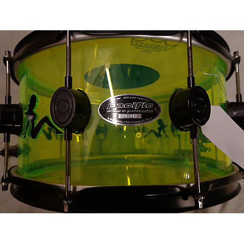 PDP by DW 7X14 MUD FLAP GIRLS ACRYLIC SNARE Drum