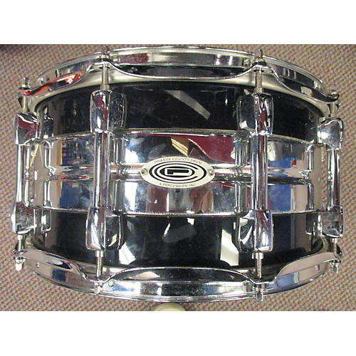 Orange County Drum & Percussion 7X14 Maple/Steel Hybrid Snare Drum-thumbnail