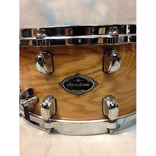 Tama 7X14 Starclassic Performer Snare Natural White Oak Finish Drum-thumbnail