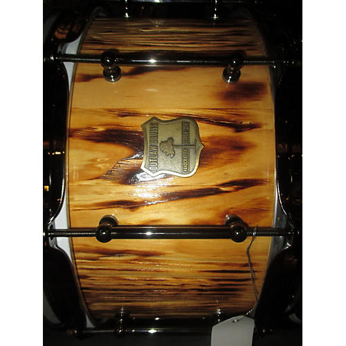 OUTLAW DRUMS 7X14 WHITE PINE STAVE SNARE Drum