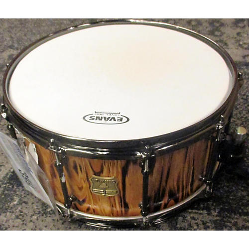 OUTLAW DRUMS 7X14 WPFF1407B White Pine Stave Forest Fire Drum-thumbnail