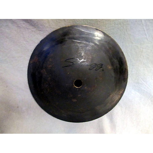 Stagg 7in Black Metal Bell Cymbal-thumbnail